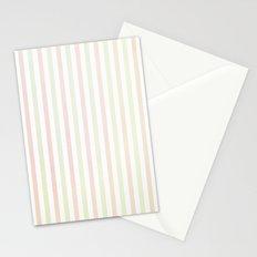 Flannelette Stripes Design Stationery Cards