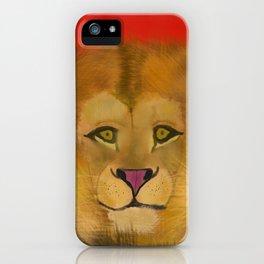 Color Pop Lion iPhone Case