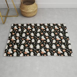 HALLOWEEN GHOST PARTY Rug