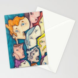 ten people Stationery Cards