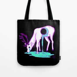 Drippy Deer Tote Bag