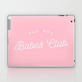 BADASS BABES CLUB PINK Laptop & iPad Skin