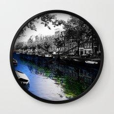 Amsterdam Colorsplash Wall Clock