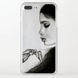 The Final Kiss Clear iPhone Case