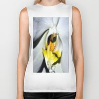 orchid Biker Tanks featuring orchid by  Agostino Lo Coco