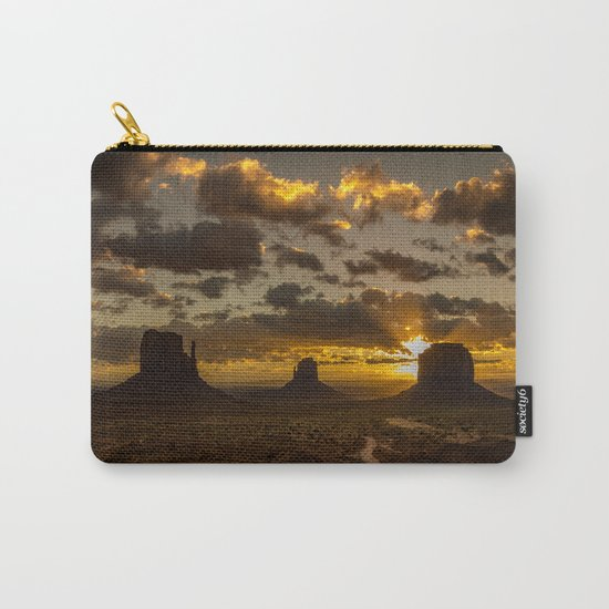 Monument Valley - Vivid Sunrise Carry-All Pouch
