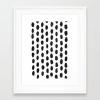 dot Framed Art Prints featuring Dot by Studio#19