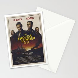 G-EZY AND LOGIC THE ENDLESS SUMMER TOUR Stationery Cards