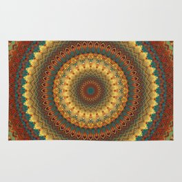 Earth Mandala 6 Rug