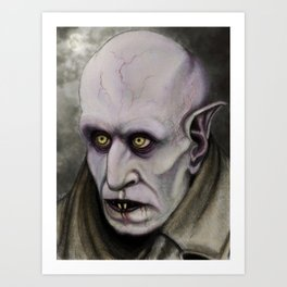 Orlok the Loathsome Art Print