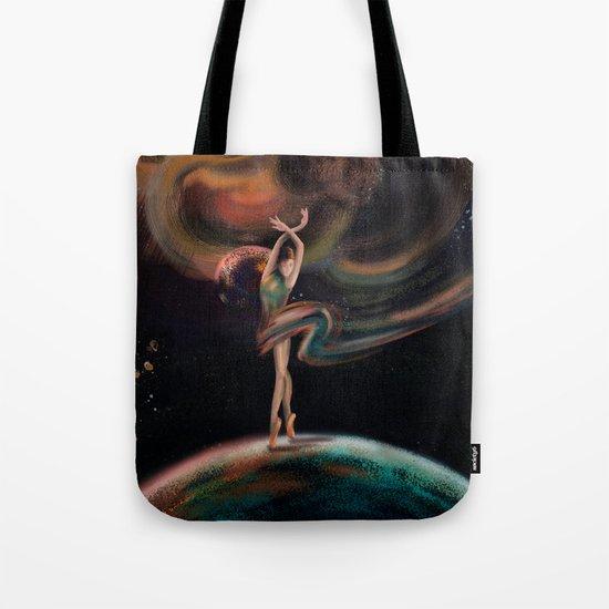 The dancing universe Tote Bag