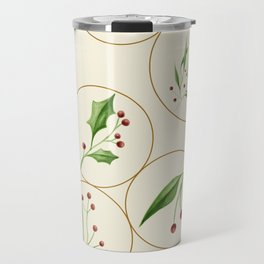 Berries Baubles #society6 #xmas Travel Mug