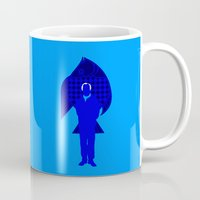 karl Mugs featuring Karl Stromberg by Vector Vectoria