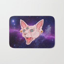 Cats in Space Bath Mat
