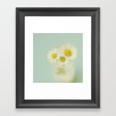 Three of a kind Framed Art Print