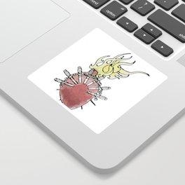 Sorrowful Mother's Heart Sticker
