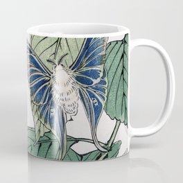 Moth Traditional Japanese Wildlife Coffee Mug