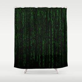 """film grain"" Matrix Shower Curtain"