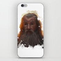 gandalf iPhone & iPod Skins featuring Gandalf by Ryky