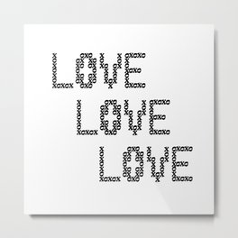 So Much Love to Give 02 Metal Print