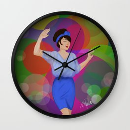 Champagne Shine Wall Clock