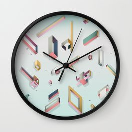 CandyBox Graphics Wall Clock