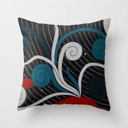 Whale Pass Throw Pillow