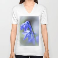 blues V-neck T-shirts featuring Blues.... by Bob Daalder