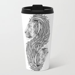 Courage to create Travel Mug