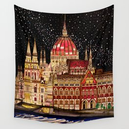 Budapest Parliament, Hungary Wall Tapestry