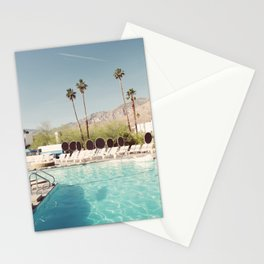 MORNING POOLSIDE Stationery Cards