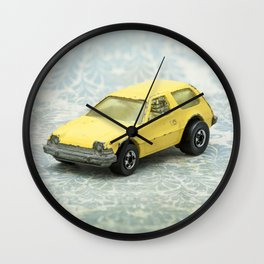 Yellow Hot Wheels Packin' Pacer 1977 Wall Clock