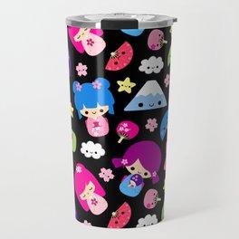 Kawaii Kokeshi J-Pop! Travel Mug