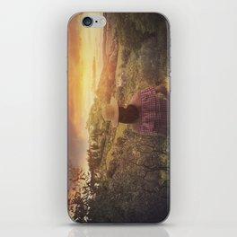 Tuscan love iPhone Skin