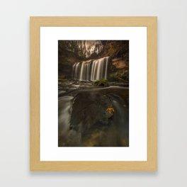 Cascade Falls Framed Art Print