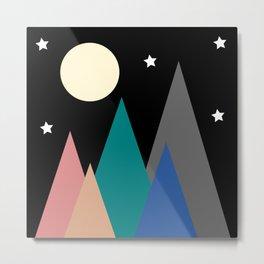 Colorful Night Metal Print
