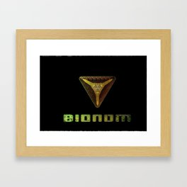 Alien Bionom Framed Art Print
