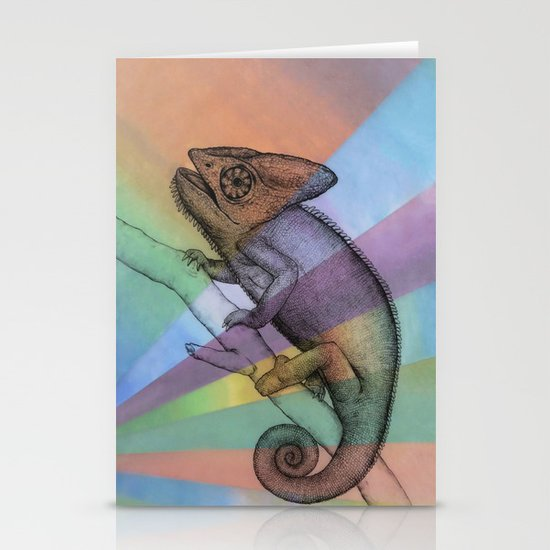 Chameleon (1) Stationery Cards