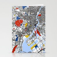tokyo Stationery Cards featuring Tokyo by Mondrian Maps