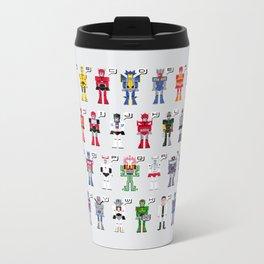 Transformers Alphabet Metal Travel Mug
