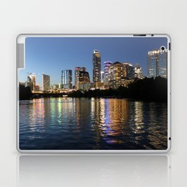 Austin, Texas skyline - city lights Laptop & iPad Skin