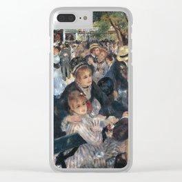 Bal du moulin de la Galette, Auguste Renoir, 1876 Clear iPhone Case