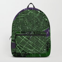 New Orleans Louisiana 1932 vintage old beautiful map Backpack