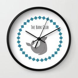 The Bark Club Wall Clock