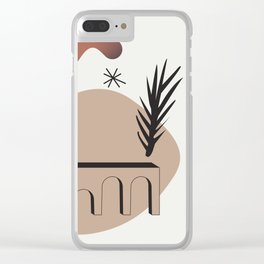 Shape study #9 - Synthesis Collection Clear iPhone Case