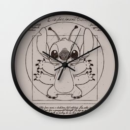 Stitch vitruvien Wall Clock