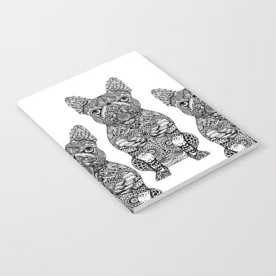 Mandala Frenchie Notebook