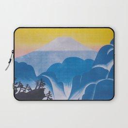 Japan. Mt. Fuji; Vintage Travel Poster Laptop Sleeve