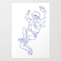 homestuck Art Prints featuring Homestuck by Lance Phillips
