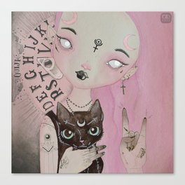 Teen Witch Canvas Print